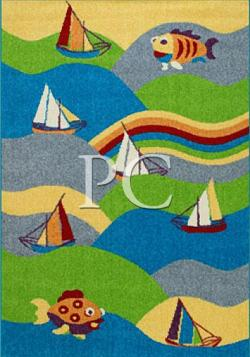 Ковер Funky Fit lime